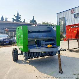 牵引式玉米小麦秸秆捡拾打捆机 行走式秸秆打捆机