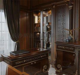 长沙整房实木定制家具 实木衣柜 多宝格定制地址电话