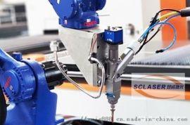 焊接汽车零配件的工业激光机器人 高效率自动化