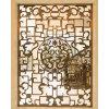 纯铜铜隔断屏风 黄铜青古铜 镂空中式不锈钢花格