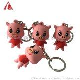 廣州工廠  PVC立體公仔促銷禮品鑰匙扣