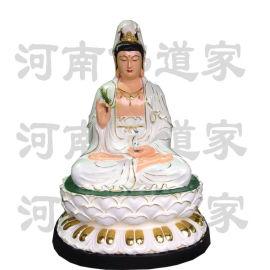 慈航道人神像 十二金仙雕塑厂 玻璃钢佛像