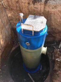 一体化提升泵站,一体化污水泵站性能参数