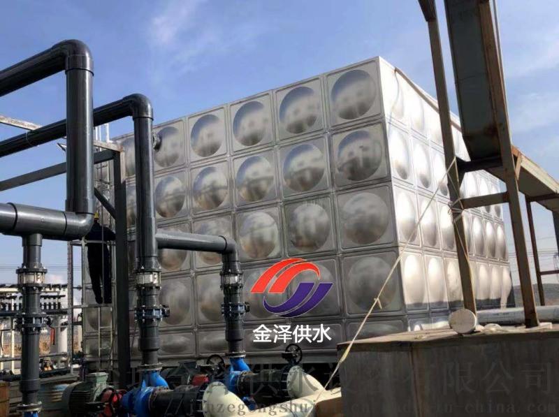 山東威海不鏽鋼消防水箱的使用效果