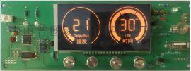 供应触摸式LCD显示屏温控器PCB电路板控制器