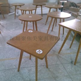 大理石桌子石英石餐桌木纹大理石餐桌定制厂家