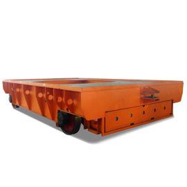 轨道平板车 3吨电动搬运车 铁轨上运行的平板拖车