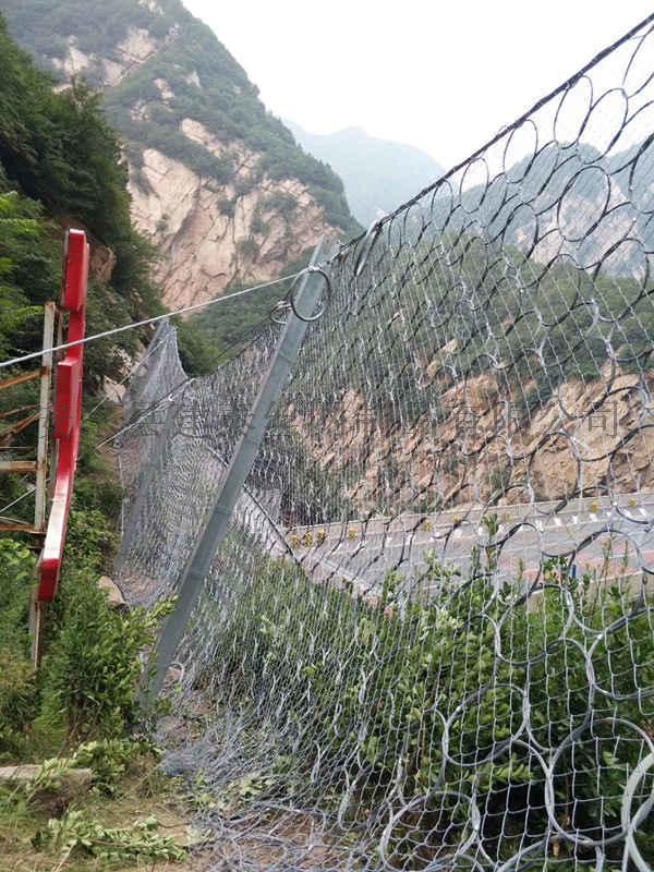 被动边坡防护网 安装被动防护网