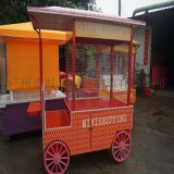 售賣車 木製 小型時尚流行小吃商品售賣車