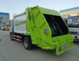 6方壓縮垃圾車一鍵操作方便快捷