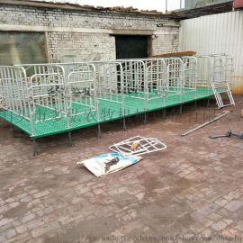 热镀锌复合定位栏猪料槽高床猪用设备厂家