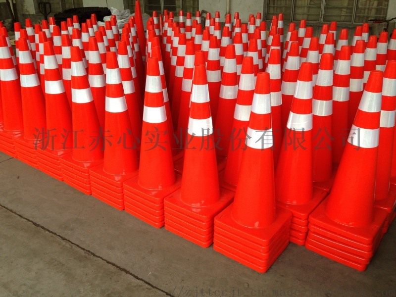 交通橡胶塑料警示路障反光雪糕筒广告PVC路锥隔离锥