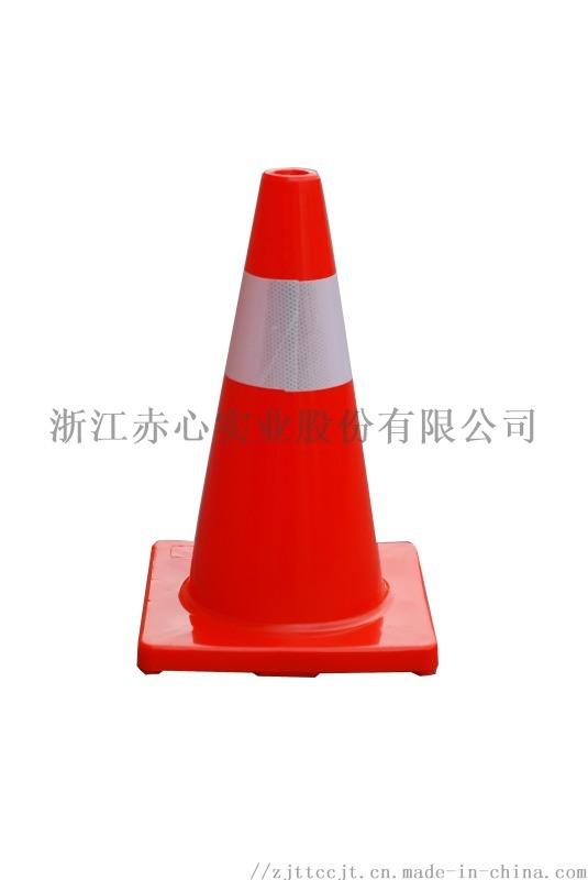 高品质雪糕筒广告路锥pvc安全反光交通设施锥厂家