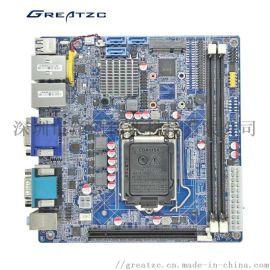 H110芯片组物联网多串口MIN-ITX工控主板