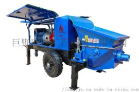 小型混凝土输送泵_细石砂浆输送泵_巨野欧曼机械厂
