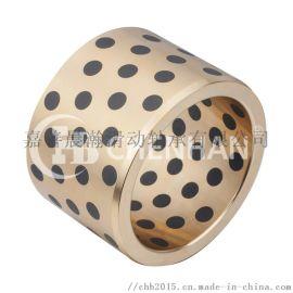 定制非标无油自润滑石墨铜套,含油铜套专业生产厂家
