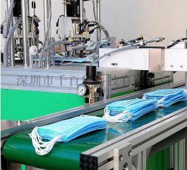 高速稳定 三层无纺布一次性平面口罩机生产线