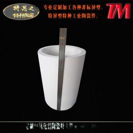 氧化铝陶瓷大管 大口径氧化铝陶瓷管 内衬刚玉管