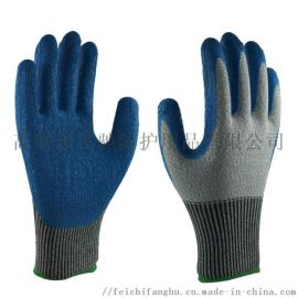 HPPE防切割浸胶劳保防护手套厂家