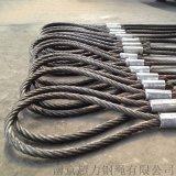 帶K鍛打扁絲6K-36WS-IWR-36mm鋼芯鋼絲繩旋挖機專用鋼絲繩