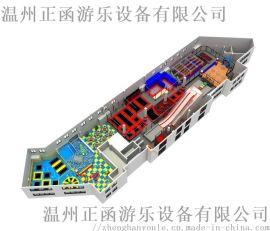 厂家直销 大型蹦床游乐设备 室内游乐 可定制