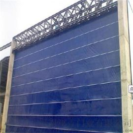 工业堆积卷帘门 PVC高速卷帘门 雷达感应自动门