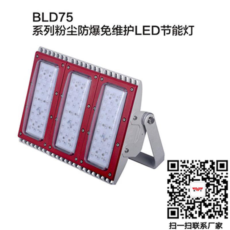 LED防爆馬路燈led泛光燈150W護欄式防爆燈