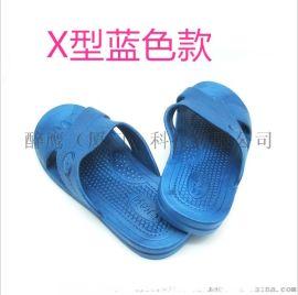 厦门防静电拖鞋 SPU软底耐磨防静电工作鞋无尘鞋