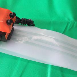 平凉市拼接缝热压土工膜爬焊机价格 防水板塑焊机