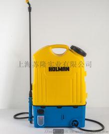 濛花16L农用电动背负式消毒打药机 手动喷雾器