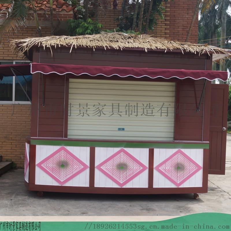 广州多功能售卖亭设计图--小区售卖亭厂家专业定制