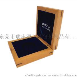单枚纪念币/奖章礼品盒,榉木喷漆,镶嵌工艺