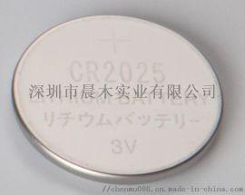 CR2025纽扣电池,3V扣式锂锰电池,cr2025