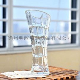 北欧花瓶简约花瓶时尚花瓶水晶花瓶富贵竹瓶餐桌花瓶