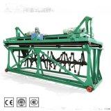 4米的槽式翻堆機液壓可升降 有機肥加工廠常用設備槽式翻拋機