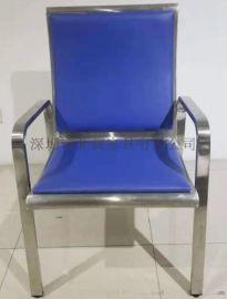 Baiwei全不锈钢公共座椅机场椅排椅