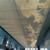 外牆透光白色衝孔鋁板 幕牆衝孔鋁板透光造型