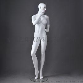 商场玻璃钢展示模特道具,艺翔女装店模特道具订制