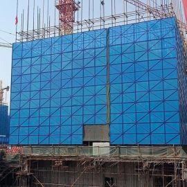 建筑外墙爬架网附着式脚手架防护板