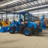 两头忙挖掘装载机工程轮式挖掘铲车多功能挖掘装载机