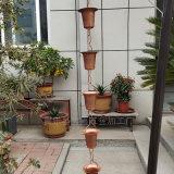 厂家供应日式花杯雨链 纯铜排水链生产厂家