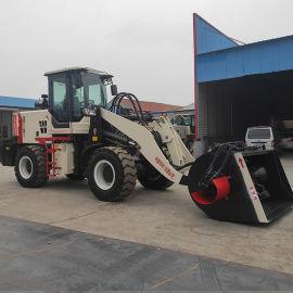 装载机搅拌斗 混凝土搅拌铲车 可移动的搅拌机