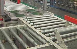 伸缩式滚筒输送机 定做不锈钢输送滚筒 六九重工 包
