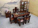 古典中式茶幾  茶臺款式多樣支持定制廣州盛源
