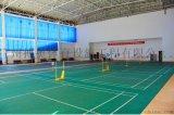 塑膠羽毛球場施工建設及羽毛球場地膠安裝廠家