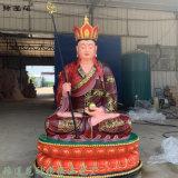 带背光地藏王菩萨佛像 地藏菩萨佛像 坐兽地藏塑像