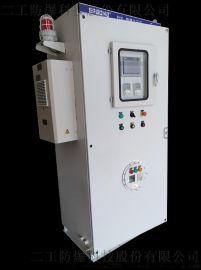 选用优质钢板二工防爆特别定制上下式防爆配电正压柜