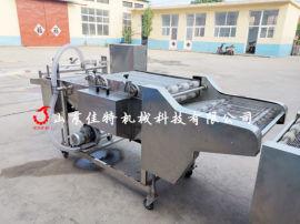 江苏肉片自动化上浆机, 网带式浸浆机