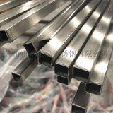 拉絲304不鏽鋼方管規格30*30*1.4
