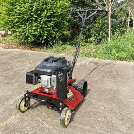 垂直轴汽油割草机, 小型手推式果园碎草机